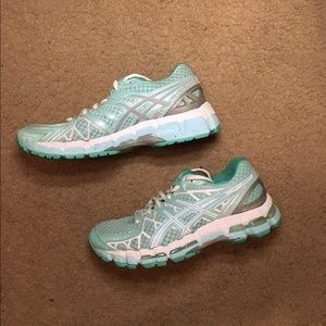 Asics Shoes - Size 7 Mint Gel-Kayuno 20 Asics