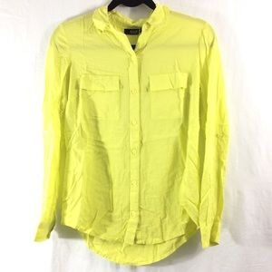 a.n.a Tops - A.n.a. Bright yellow button-up