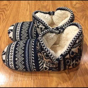 Muk Luks Shoes - Woven Mukluks