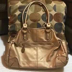 Rosetti Handbags - Large Gold Rosetti Handbag Purse