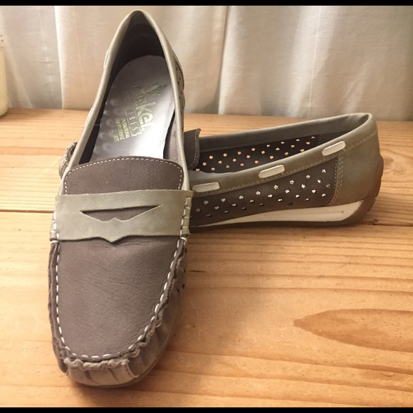 Rieker Antistress Leather  Loafers