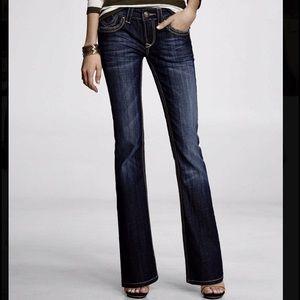 Express Denim - NWOT 2 Long REROCK for Express Dark Wash Jeans