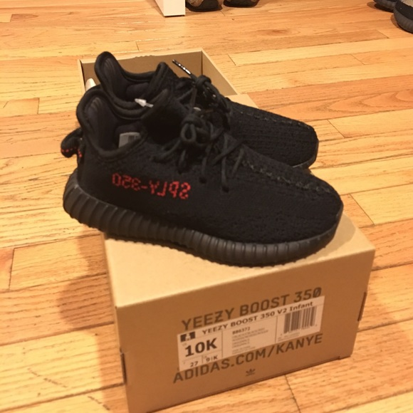 Adidas x Yeezy BRED VERY LIMITED, TODDLERS - NEW