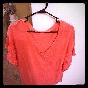 Monique Tops - Cotton Butterfly Sleeve Shirt