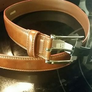 Bosca Other - Men's BOSCA leather belt size 38