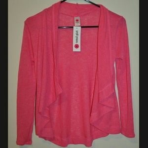 Tops - Hot Pink Cardigan NWT