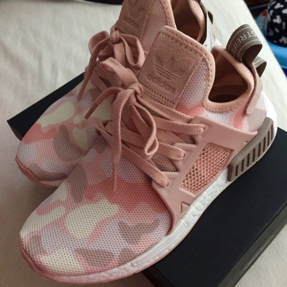 ae3bf9e75 Flash sale from  258 Adidas NMD R1 camo pink