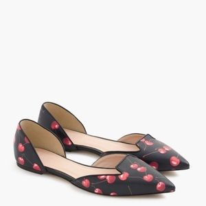 J.crew Sadie loafers in cherry print