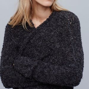 Free People Sweaters - 💥1HrSALE💥Free People Boucle Slouch Cardi Sweater