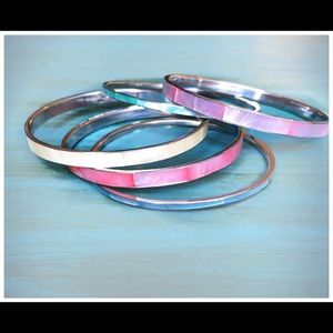 Jewelry - Vintage Mother of Pearl Bangles
