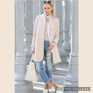 East 5th Jackets & Blazers - 🌺NWOT-Cream Colored Wool Coat🌺