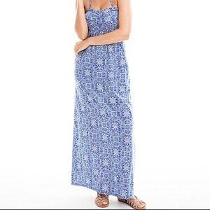 Garnet Hill Dresses & Skirts - Garnet Hill TWIST DETAIL MAXI DRESS Long Beach