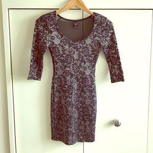 WINDSOR Dresses & Skirts - NWOT blk/ cream dress