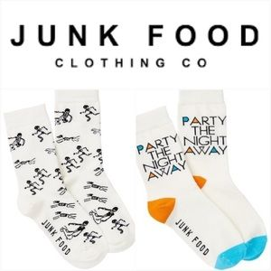 Junk Food Clothing Accessories - Junk Food Crew Trouser Socks set of 2