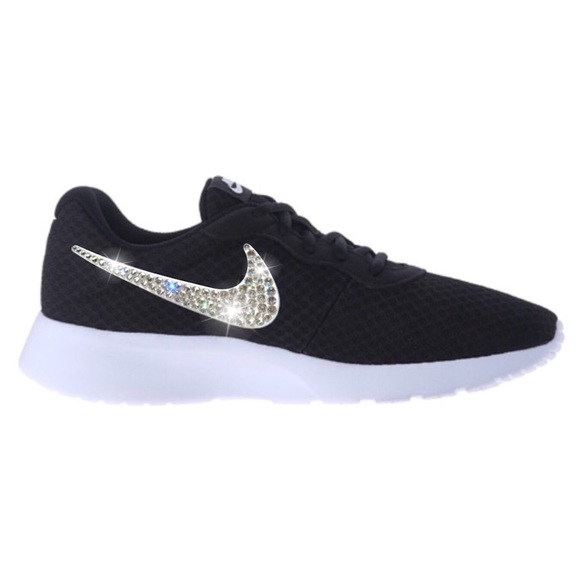 2ef6f9e92273 Bling Nike Tanjun Shoes with Swarovski Crystals. Boutique. Nike.  M 58b265885a49d09d40053ed9. M 58b265885a49d09d40053ed9