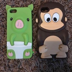Accessories - Monkey IPhone 5/5s cases
