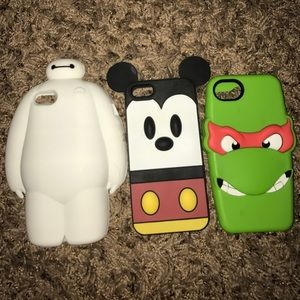Accessories - Character IPhone 5/5s cases