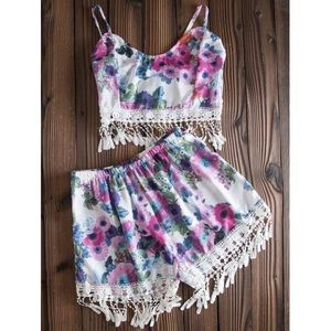 Other - Floral 2-Piece Set
