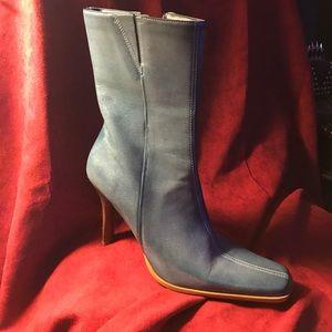 Diba Shoes - DIBA Blue leather Boots NEW❣❣❣