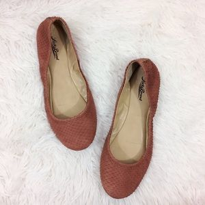LUCKY BRAND brown emmie nomad montauk flats