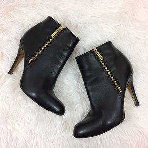 BANANA REPUBLIC black high heel ankle boots