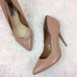 STEVE MADDEN light pink stilettos