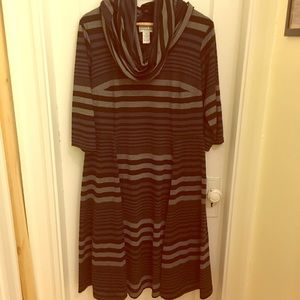 Robbie Bee Dresses & Skirts - Robbie Bee Plus Size Striped Dress
