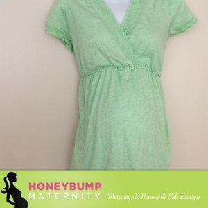 Motherhood Maternity Tops - Maternity nursing sleep top size XL