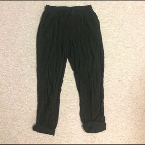 Urban Outfitters Pants - Small High Waist Tie Pants