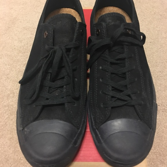 dcda41a29083 Men s Converse Jack Purcell all black size 10.5. M 58b2757236d5942506056eff