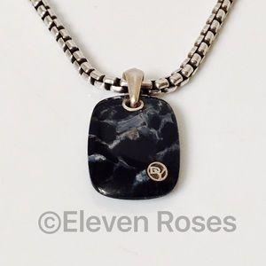 David Yurman Other - David Yurman Pietersite Exotic Stone Pendant