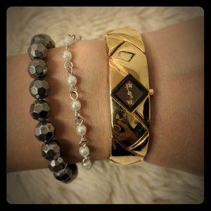 Seiko Accessories - RARE Seiko Gold Bangle Watch