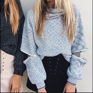 LF cowl neck sweater