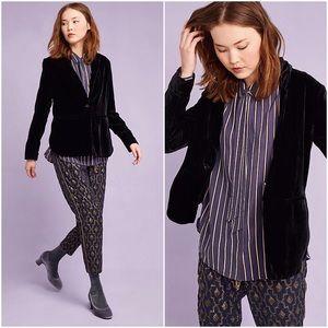 Anthropologie Jackets & Blazers - Cartonnier velvet blazer