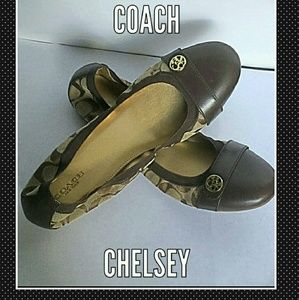 Coach Shoes - Sweet Treats: Coach ballet flats in toffee & cocoa