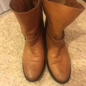Zara Shoes - Zara leather biker boots
