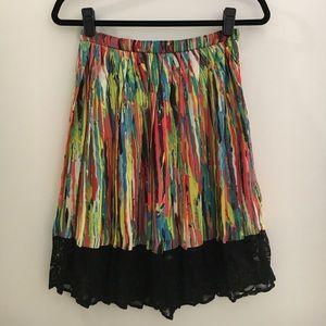Prabal Gurung Target Colorful Bright Skirt