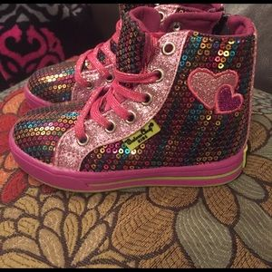 Western Chief Other - Lil girls sz 9 high top sparkle western chief shoe