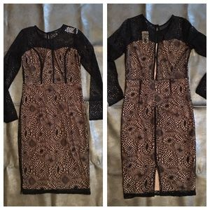 Forever 21 lace and nude dress! NWT