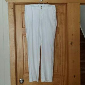Chaps Pants - White Chaps Dress pants