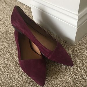 Le Crown Shoes - Never Worn! Perfect Wine Flats
