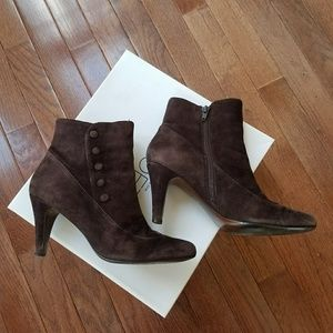 LOFT SUEDE ankle boots