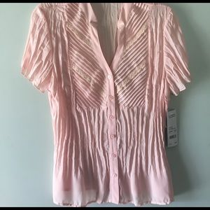 NY Collection Tops - Gorgeous pink blouse