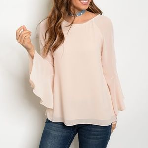 Tops - 🎉2x HP🎉 Bell Sleeve Top