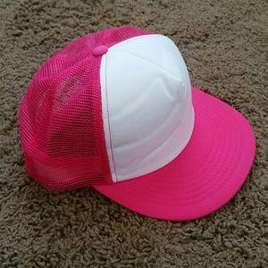 Brand New Hot Pink Foam Trucker Hat