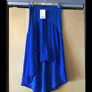 High-lo skirt