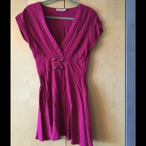 Cranberry Modcloth vintage inspired dress
