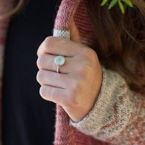 Lisa Leonard Jewelry - Lisa Leonard Aqua Chalcedony Ring