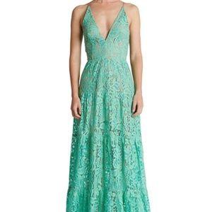 Gorgeous Illusion Lace Gown