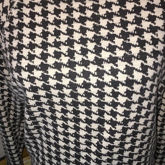 J. Crew Sweaters - j.crew houndstooth sweatshirt